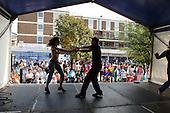 Ceroc Dance perform at Church Street Summer Festival 2005, Paddington, London.