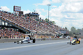 NHRA Mello Yello Drag Racing Series<br /> Summit Racing Equipment NHRA Nationals<br /> Summit Racing Equipment Motorsports Park, Norwalk, OH USA<br /> Saturday 24 June 2017 Antron Brown, Matco Tools, Top Fuel Dragster<br /> <br /> World Copyright: Will Lester Photography