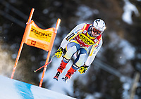 26th December 2020; Stelvio, Bormio, Italy; FIS World Cup Mens Downhill;   Aleksander Aamodt Kilde of Norway during his 1st training run for the mens downhill race of FIS ski alpine world cup at the Stelvio