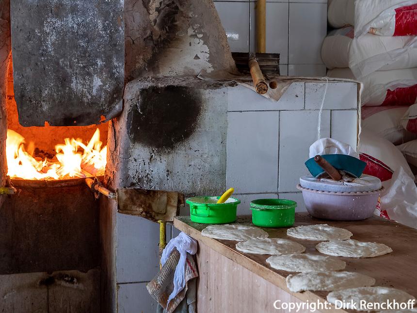 Bäcker, Chorsu-Basar in Taschkent, Usbekistan, Asien<br /> Bakery, Chorsu-Bazaar in Tashkent, Uzbekistan, Asia
