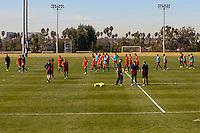 USMNT Training, January 17, 2013