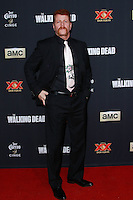 UNIVERSAL CITY, CA, USA - OCTOBER 02: Michael Cudlitz arrives at the Los Angeles Premiere Of AMC's 'The Walking Dead' Season 5 held at AMC Universal City Walk on October 2, 2014 in Universal City, California, United States. (Photo by David Acosta/Celebrity Monitor)