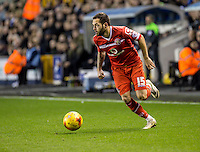 Milan Lalkovic of Walsall during the Sky Bet League 1 match between Millwall and Walsall at The Den, London, England on the 26th December 2015. Photo by Liam McAvoy.