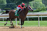 July 24,2020: Assume #5 ridden by Manuel Franco trained by Todd Pletcher wins the first reace on Quick Call day at Saratoga Race Course in Saratoga Springs, New York. Rob Simmons/Eclipse Sportswire/CSM