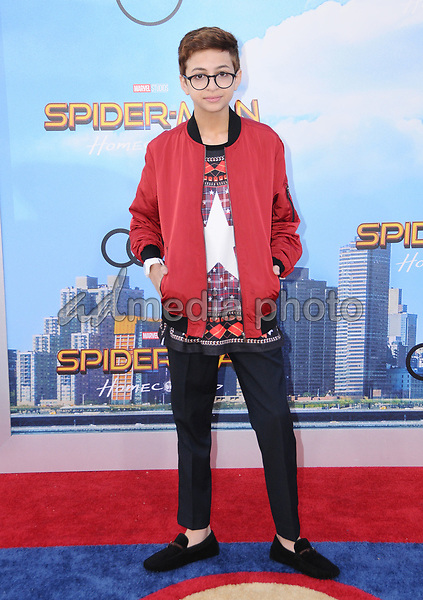 """28 June 2017 - Hollywood, California - J.J. Totah. """"Spider-Man: Homecoming"""" Los Angeles Premiere held at the TCL Chinese Theatre in Hollywood. Photo Credit: Birdie Thompson/AdMedia"""