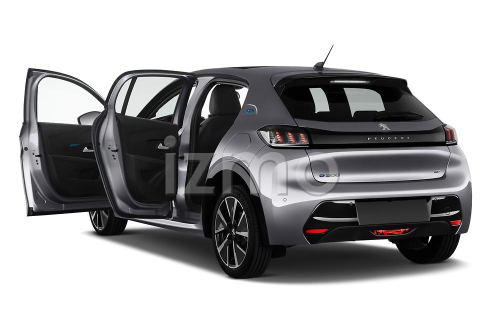 Car images of 2020 Peugeot e-208 GT 5 Door Hatchback Doors