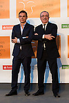 Alberto Conejero and Mariano Marin poses for the photographers during 2015 Theater Ceres Awards photocall at Merida, Spain, August 27, 2015. <br /> (ALTERPHOTOS/BorjaB.Hojas)
