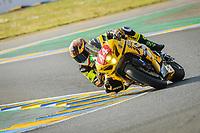 #44 NO LIMITS MOTOR TEAM (ITA) SUZUKI GSXR 1000 -SUPERSTOCK- SCASSA LUCA (ITA) / MASBOU ALEXIS (FRA) / CALIA KEVIN (ITA)