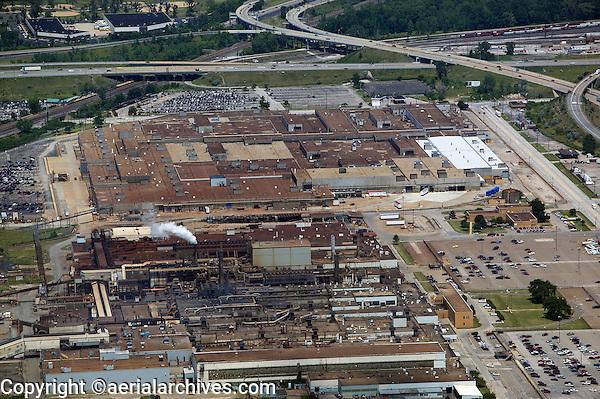 aerial photograph of the Ford Motor Company Engine Plant No 1 Aluminum Casting Plant. Brook Park Cleveland, Ohio