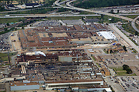 aerial photograph of the Ford Motor Company Engine Plant No 1 Aluminum Casting Plant. Brook Park Cleveland, Ohio