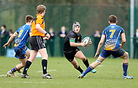 Wednesday 20th March 2019 | 2019 Schools Shield Final<br /> <br /> Will Cave during the 2019 Ulster Schools Cup Final between Sullivan and Bangor Grammar at The Dub Arena, Queens University, Belfast, Northern Ireland. Photo by John Dickson / DICKSONDIGITAL