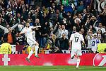 Real Madrid´s Gareth Benzema during Champions League soccer match at Santiago Bernabeu stadium in Madrid, Spain. March, 10, 2015. (ALTERPHOTOS/Caro Marin)