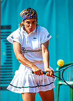 Paris, France, 29 Mai, 1991, Tennis, Roland Garros, Noelle van Lottum (NED) <br /> Photo: Henk Koster/tennisimages.com