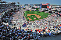 30 May 2011: A crowd of 34,789 enjoys a sunny Memorial Day afternoon game between the Washington Nationals and the Philadelphia Phillies at Nationals Park in Washington, District of Columbia. The Phillies defeated the Nationals 5-4 to take the first game of their 3-game series. Mandatory Credit: Ed Wolfstein Photo