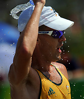Aug 22, 2008, Beijing, China, Jared Tallent of Australia silver medal in the Men's 50km walk during the Beijing 2008 Olympic Games.Marcia 50 Km<br /> Olimpiadi Pechino 2008<br /> Foto Cspa/Insidefoto