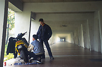 - Milan, young people in Barona district (November 1995)<br /> <br /> - Milano, giovani nel quartiere Barona (Novembre 1995)