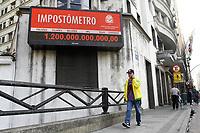 05.07.2018 - Impostômetro da ACSP atinge R$ 1,2 trilhão em SP