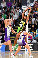 Kelera Nawai of the Pulse during the ANZ Premiership match between the Pulse and the Stars at Fly Palmy Arena, Palmerston North, New Zealand on Sunday 18 April 2021.<br /> Photo by Masanori Udagawa. <br /> www.photowellington.photoshelter.com