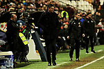 CD Leganes's coach Mauricio Pellegrino during La Liga match between Rayo Vallecano and CD Leganes at Vallecas Stadium in Madrid, Spain. February 04, 2019. (ALTERPHOTOS/A. Perez Meca)
