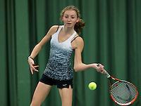 March 14, 2015, Netherlands, Rotterdam, TC Victoria, NOJK, Emma Goedkoop (NED)<br /> Photo: Tennisimages/Henk Koster