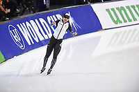 SPEEDSKATING: SALT LAKE CITY: Utah Olympic Oval, 10-03-2019, ISU World Cup Finals, 1500m Ladies, Miho Takagi (JPN), world record: 1:49.839, ©Martin de Jong