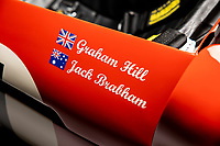 BNPS.co.uk (01202 558833)<br /> Pic: Bonhams/BNPS<br /> <br />  A F1 car driven by world champion drivers Sir Jack Brabham and Graham Hill is tipped to sell for over £400,000. <br /> <br /> The 2.5 litre Brabham Climax BT3 was built by Brabham who raced in it at the 1962 Australian Grand Prix.<br /> <br /> The cherry red car then changed hands to Hill who drove it to victory against its original owner in a race in1964.