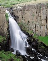 Clear Creek Falls near Creede, Colorado in the San Juan Mountain Range.