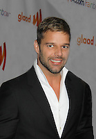 03-19-11 Glaad Awards - Ricky Martin - Russell Simmons