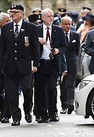 Former Labour Party leader Jeremy Corbyn has been suspended from the party and has had the whip removed after his reaction to an anti-Semitism report. Thursday October 29th 2020<br /> Pictured here at the Battle of Britain Fighter Association Service of thanksgiving and rededication at Westminster Abbey, London on September 17th 2017<br /> <br /> Photo by Keith Mayhew