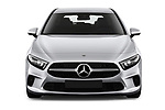 Car photography straight front view of a 2019 Mercedes Benz A-Class Progressive 5 Door Hatchback Front View