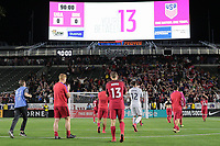 Carson, CA - Sunday January 28, 2018: Jordan Morris during an international friendly between the men's national teams of the United States (USA) and Bosnia and Herzegovina (BIH) at the StubHub Center.