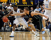 Reggie Bullock steals the ball in the second half. UNC defeated Vermont 77-58 during the 2nd round of the 2012 NCAA Basketball Championship at the Greensboro Coliseum in Greensboro, NC. Photo by Al Drago.