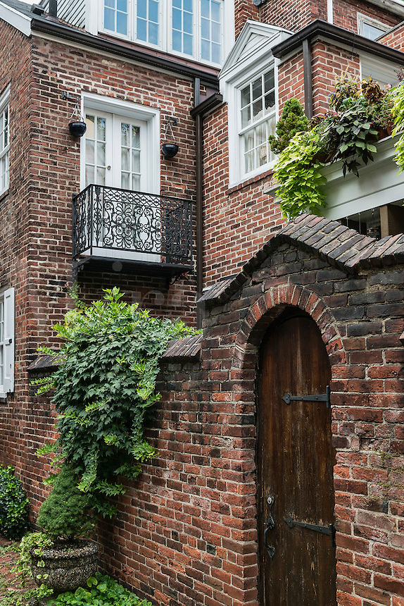 Townhouse, Old City, Philadelphia, Pennsylvania, USA