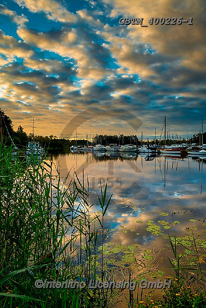 Tom Mackie, LANDSCAPES, LANDSCHAFTEN, PAISAJES, photos,+Barton Turf Staithe, Britain, British, East Anglia, England, English, Europe, Great Britain, Norfolk, Norfolk Broads, Tom Mac+kie, UK, boat, boats, cloud, clouds, mirror image, nobody, reflect, reflecting, reflection,reflections, sailboat, sailboats,+sunrise, sunrises, sunset, sunsets, time of day, ukgallery, upright, vertical, water, water's edge, weather, weather & time o+f day, yellow,Barton Turf Staithe, Britain, British, East Anglia, England, English, Europe, Great Britain, Norfolk, Norfolk B+,GBTM400226-1,#l#, EVERYDAY