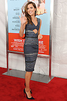 NEW YORK CITY, NY, USA - JULY 14: Allison Williams at the New York Screening Of Focus Features' 'Wish I Was Here' held at the AMC Lincoln Square Theater on July 14, 2014 in New York City, New York, United States. (Photo by Celebrity Monitor)