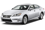Front three quarter view of a .2013 Lexus ES 350