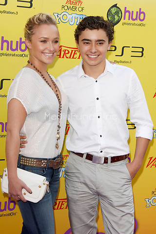 Hayden Panettiere and Jansen Panettiere at Variety's 5th Annual Power Of Youth Event at Paramount Studios on October 22, 2011 in Hollywood, California. © MPI21 / MediaPunch Inc.