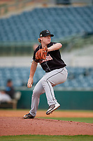 Jupiter Hammerheads starting pitcher Taylor Braley (29) during a Florida State League game against the Florida Fire Frogs on April 8, 2019 at Osceola County Stadium in Kissimmee, Florida.  Florida defeated Jupiter 7-6 in ten innings.  (Mike Janes/Four Seam Images)