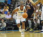 The Utah Jazz defeat the New Orleans Hornets, 90-78.<br /> <br /> Images within this gallery are not available for purchase and appear solely as a representation of my photography.