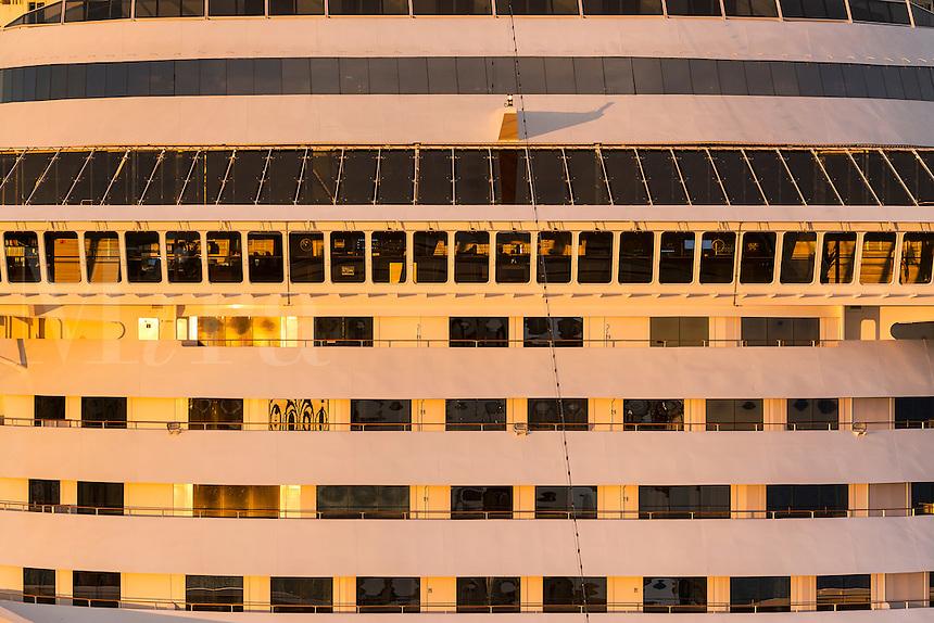 Cruise ship detail.
