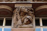 Tschechien, Prag, kubistisches Haus Legiobank, Unesco-Weltkulturerbe