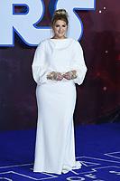 "Meghan Trainor<br /> arriving for the ""Star Wars: The Rise of Skywalker"" premiere at the Cineworld Leicester Square, London.<br /> <br /> ©Ash Knotek  D3545 17/12/2019"