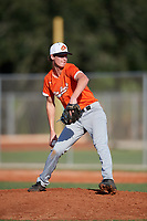 Brayden Kurtz (16) during the WWBA World Championship at Lee County Player Development Complex on October 8, 2020 in Fort Myers, Florida.  Brayden Kurtz, a resident of Fort Mill, South Carolina who attends Fort Mill High School, is committed to George Washington.  (Mike Janes/Four Seam Images)