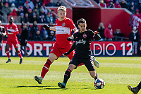 Bridgeview, IL - Saturday March 16, 2019: Major League Soccer (MLS) match between the Chicago Fire and the Seattle Sounders FC at SeatGeek Stadium.