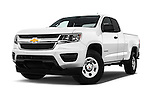 Stock pictures of low aggressive front three quarter view of 2017 Chevrolet Colorado 2WD wt Extended Cab 3 Door Pick-up Low Aggressive