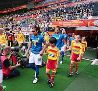 Fifa Women's World Cup Germany 2011 : Brazil - Australia  at Borussia - Park in Munchengladbach : Marta.foto DAVID CATRY / Vrouwenteam.be