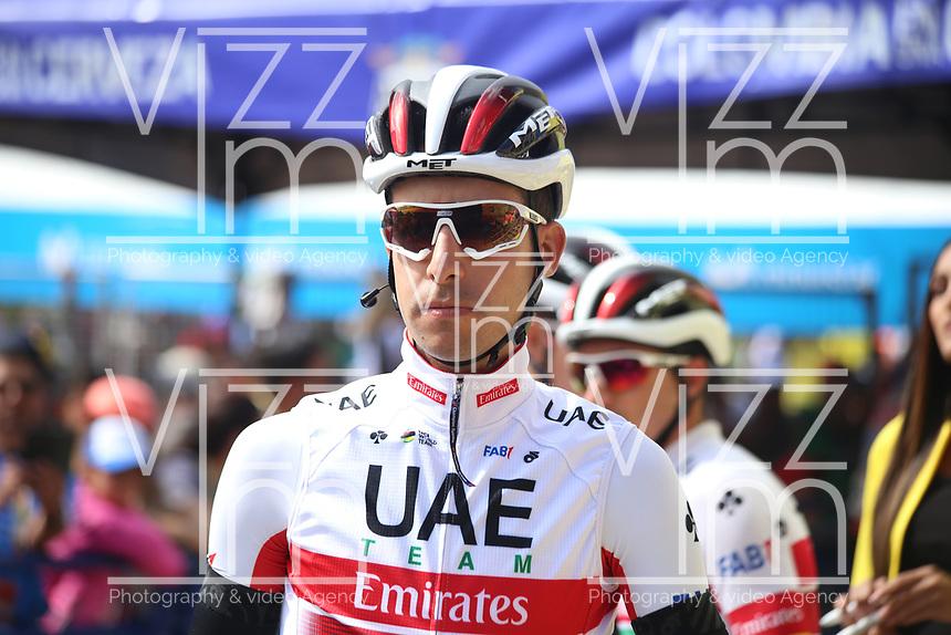 TUNJA - COLOMBIA, 15-02-2020: Fabio Aru (ITA), UAE TEAM EMIRATES, durante la quinta etapa del Tour Colombia 2.1 2020 con un recorrido de 180,5 km que se corrió entre Paipa, Boyacá, y Zipaquirá, Cundinamarca. / Fabio Aru (ITA), UAE TEAM EMIRATES, during the fifth stage of 180,5 km as part of Tour Colombia 2.1 2020 that ran between Paipa, Boyaca, y Zipaquirá, Cundinamarca.  Photo: VizzorImage / Darlin Bejarano / Cont