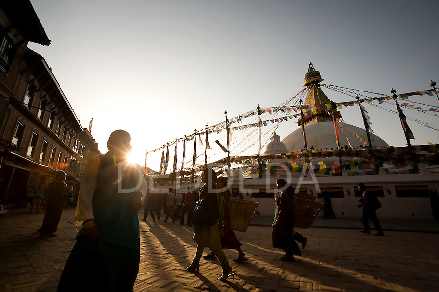 Boudhanath Stupa (aka Bodnath, Boudha) is the largest stupa in Nepal. It is also the center of Tibetan culture in Kathmandu and rich in Buddhist symbolism and sacred importance.