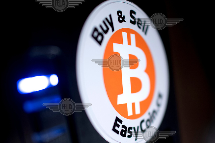 A Bitcoin exchange at hub17 an interactive business festival.