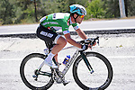 Sprint Jersey leader Mark Cavendish (GBR) Etixx-Quick Step in action during Stage 4 of the 2015 Presidential Tour of Turkey running 132km from Fethiye to Marmaris. 29th April 2015.<br /> Photo: Tour of Turkey/Mario Stiehl/www.newsfile.ie